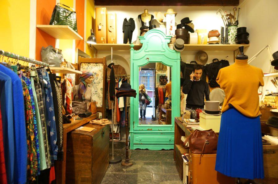 vintage shopping milan fashion italy