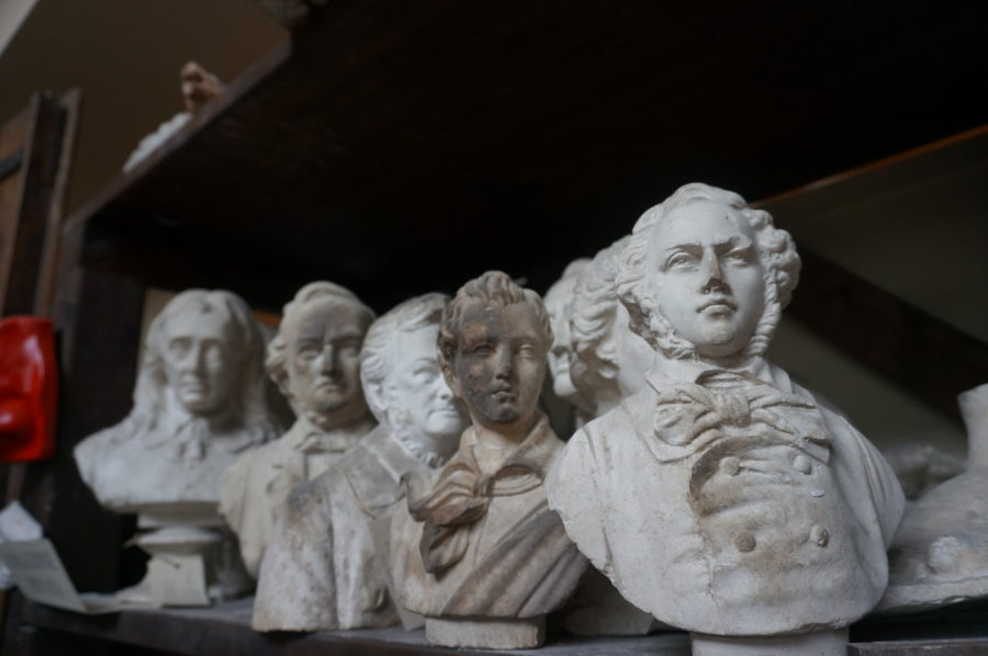 Galleria Raffaello Romanelli bust