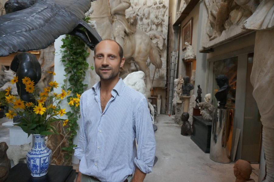 Galleria Raffaello Romanelli florence sculptor souvenir