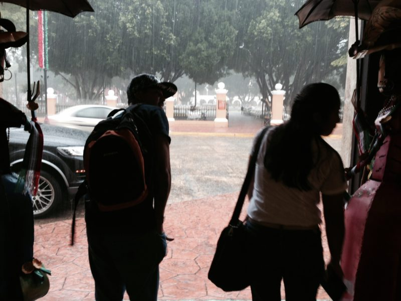 Valladolid rain