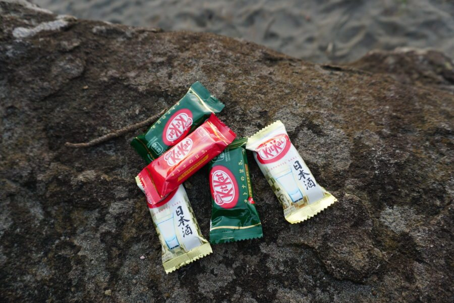 japanese flavored kitkats mini size
