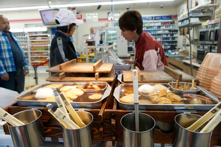 The elaborate fresh food selection at a 7-Eleven in Japan.