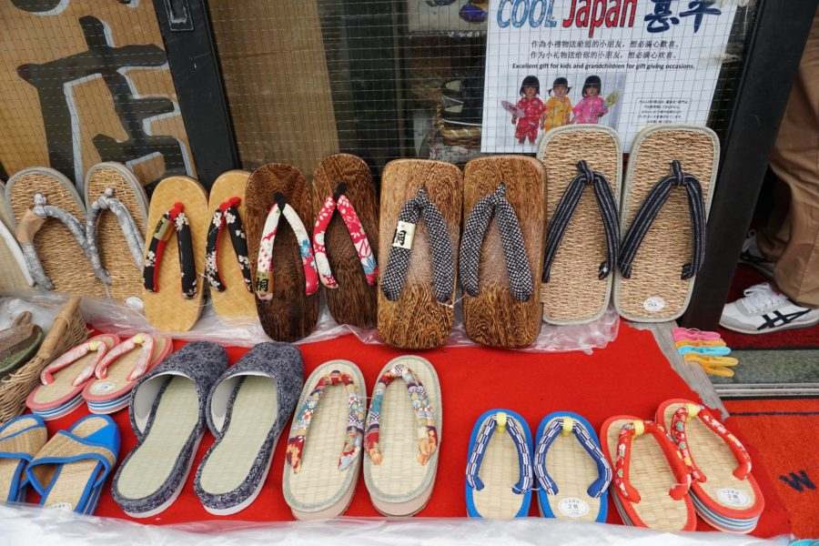 japanese souvenir geta sandals