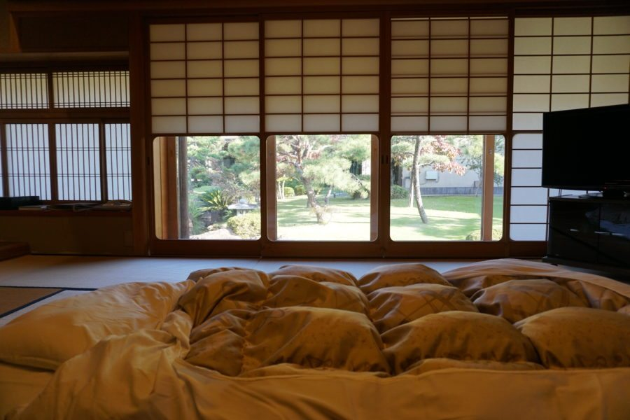 japanese futon bed traditional ryokan