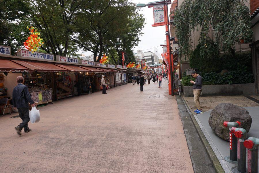 shopping streets Asakusa