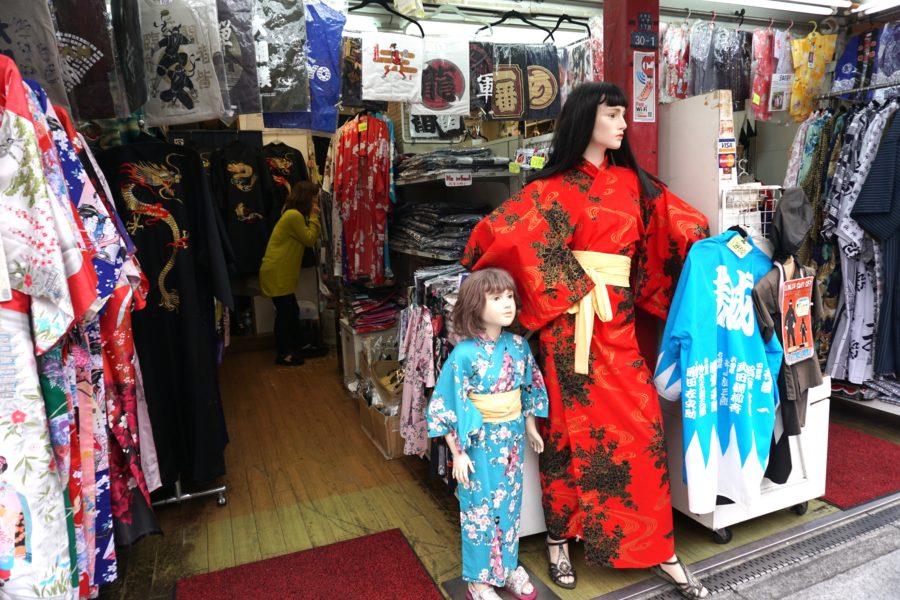 yukatas kimonas asakusa tokyo cheap