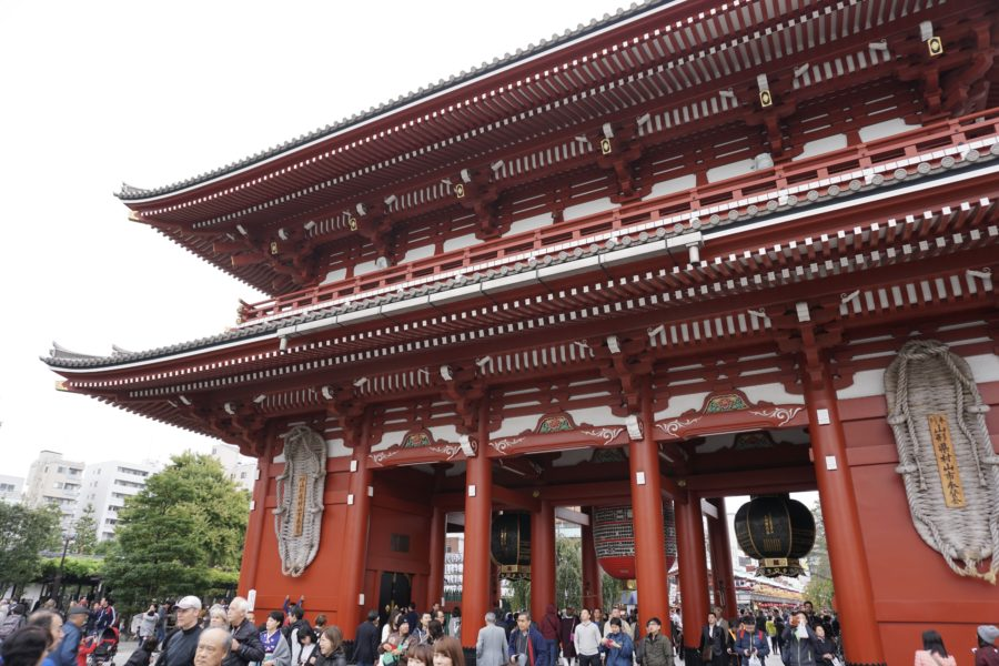 sensoji temple asakusa best temples tokyo