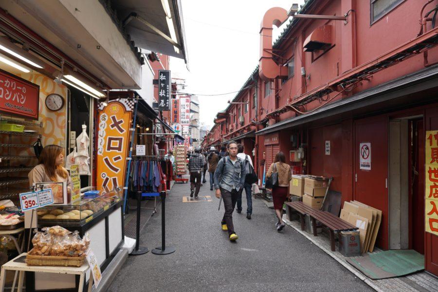 asakusa side streets shops