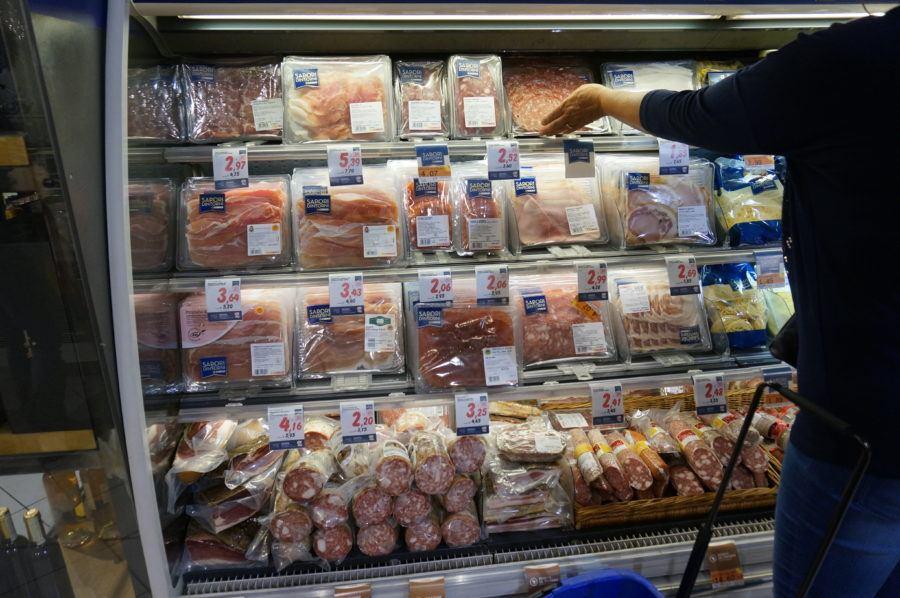 italian meats supermarket what buy
