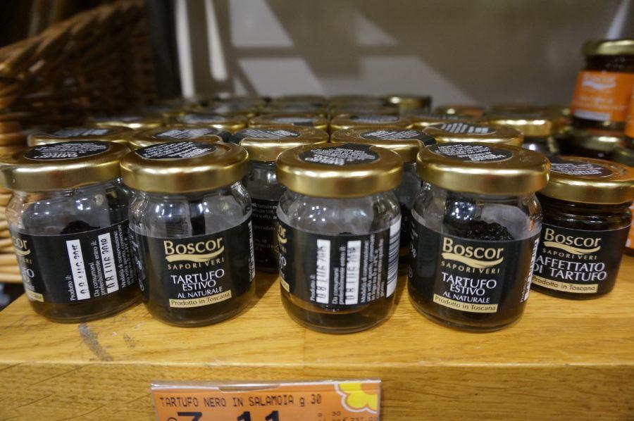 jarred italian black truffles.