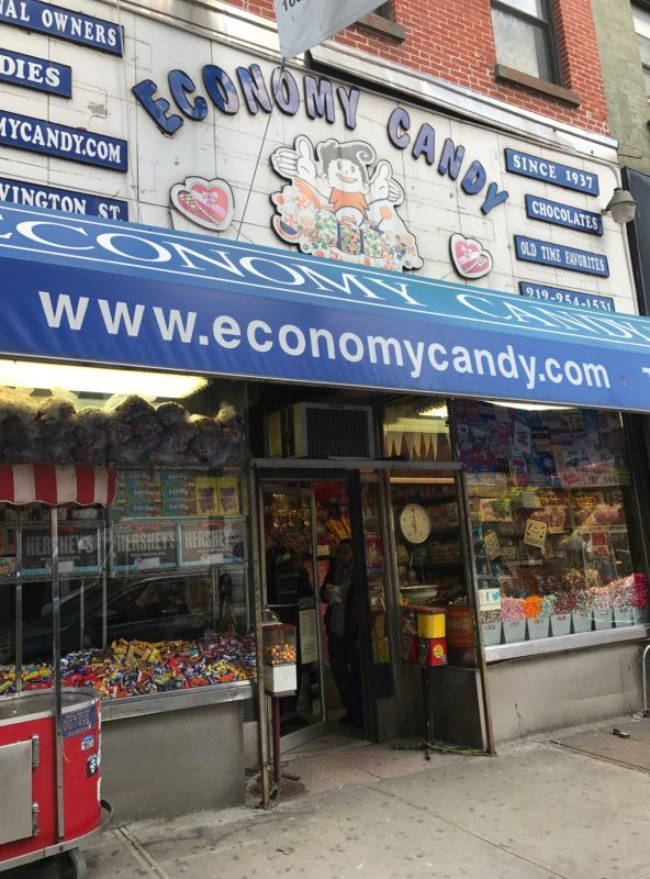 Economy Candy Rivington nyc manhattan old timey