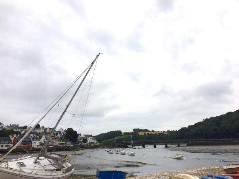 Classic Breton scene.