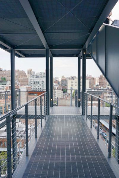 Whitney Museum of American Art stairwell outdoor
