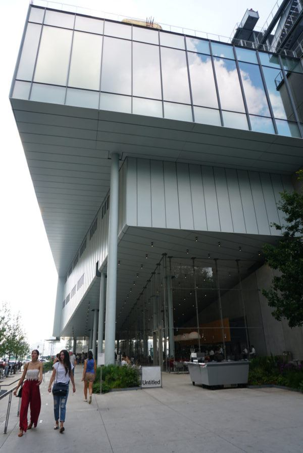 Whitney Museum's exterior musuem nyc meatpacking