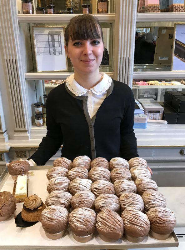 Mont blanc pastry angelina paris best dessert chestnut