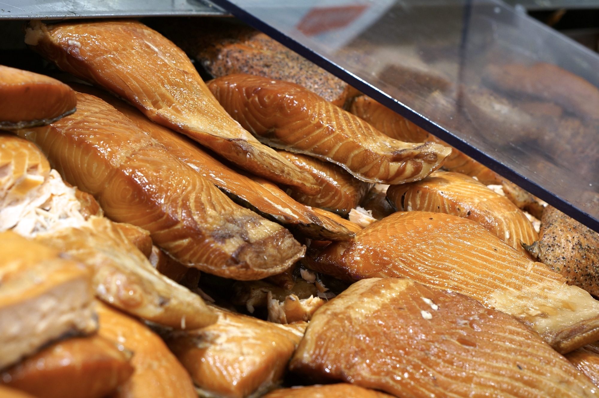 fresh smoked salmon pike place market seattle edible souvenir