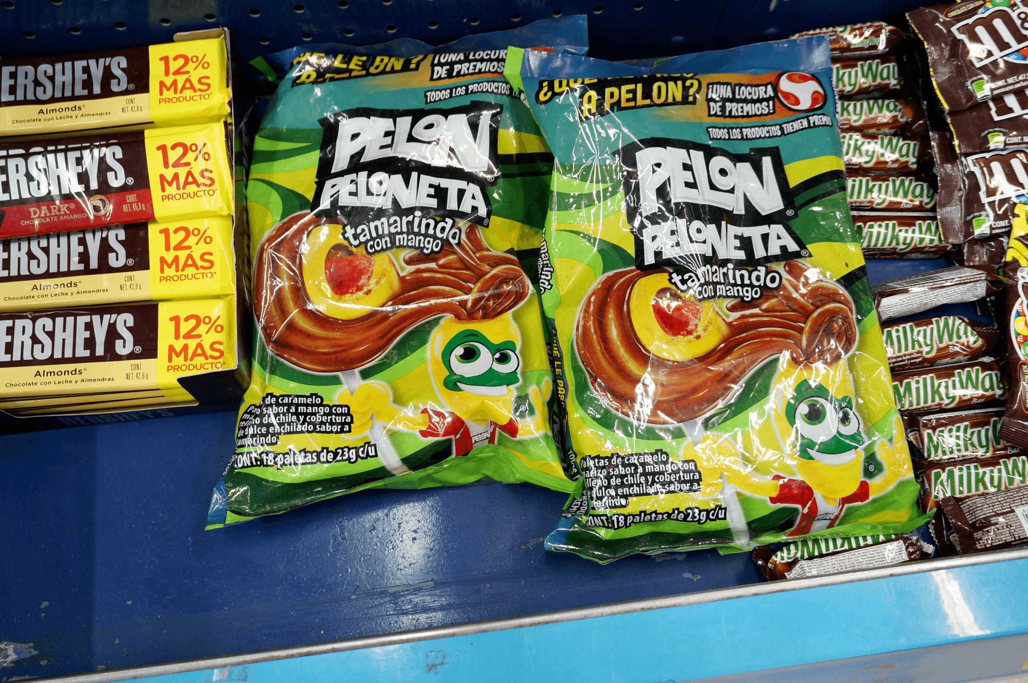 cheap Mexican supermarket souvenirs, what to buy at a supermarket in Mexico candy photos