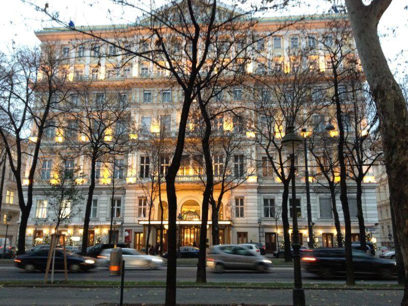Hotel Imperial in Vienna exterior best hotel