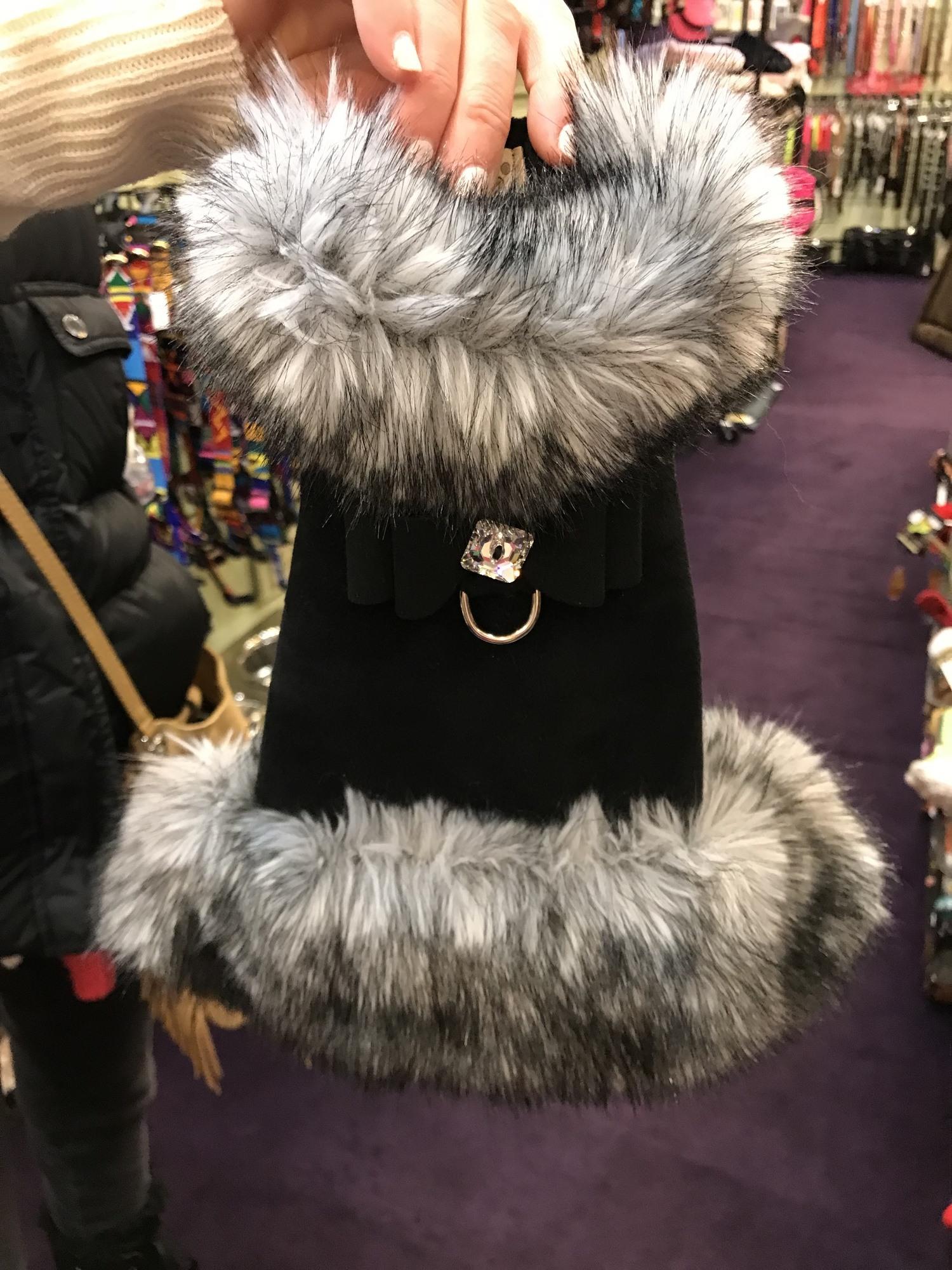 apsen dog boutique fur coat