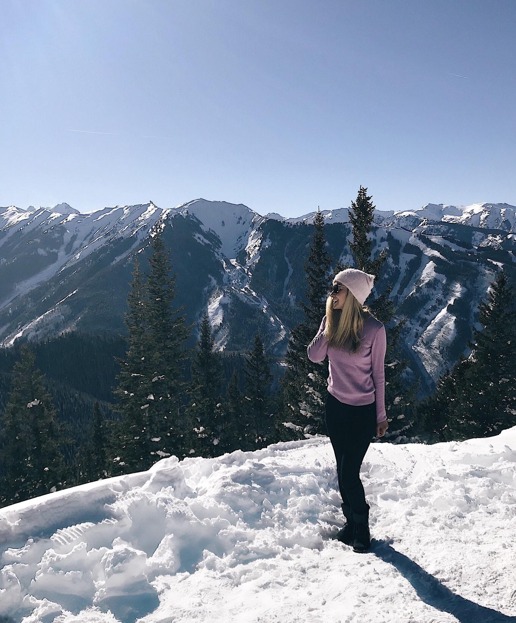 Aspen view mountain lookout