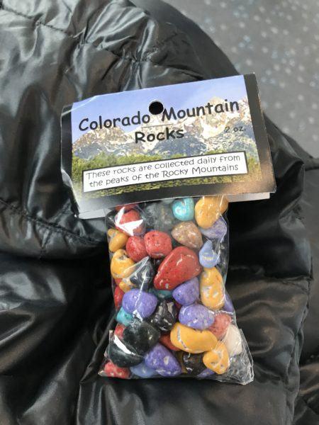 colorado mountain rocks