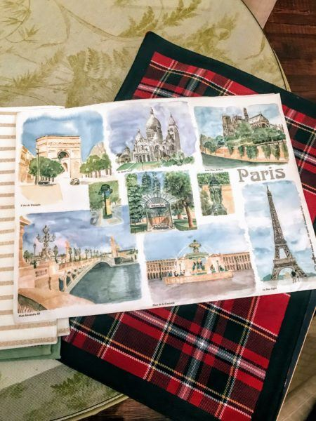 free french souvenirs from paris menus