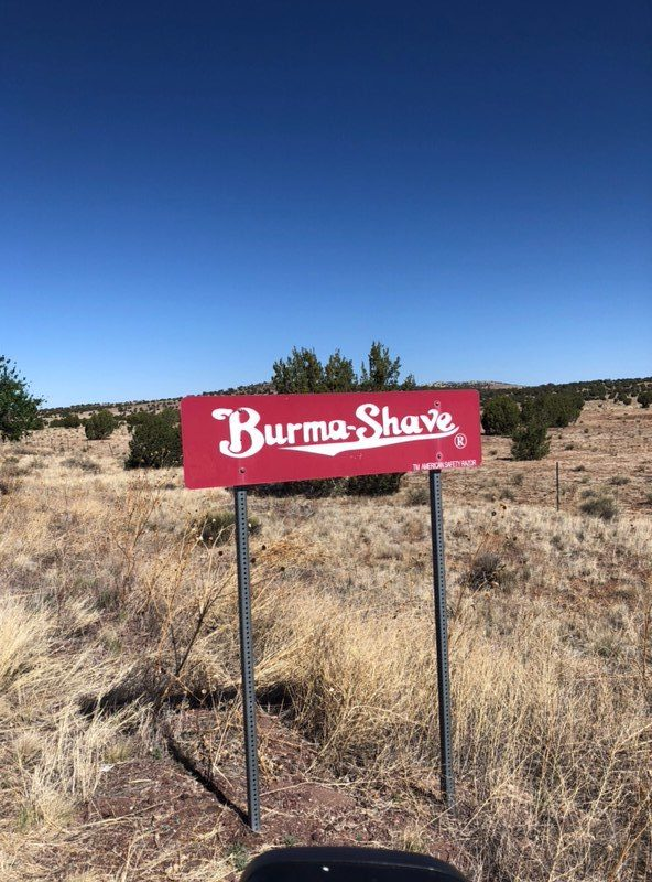 burma shave route 66 arizona