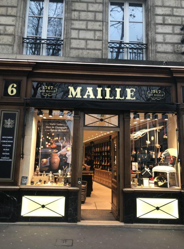 maille mustard shop paris souvenir