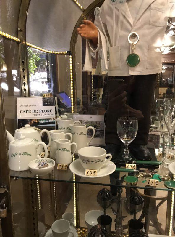 cafe de flor souvenir dishes tea cup set