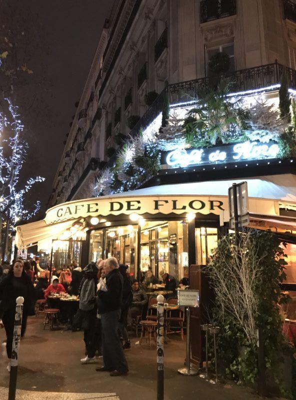 cafe de flor paris front restaurant exterior photos