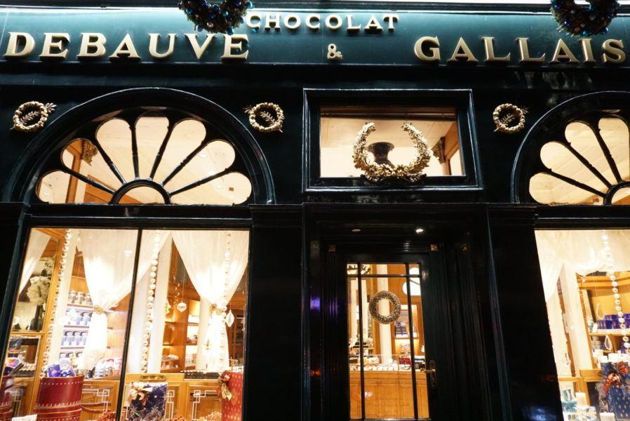 debauve and gallais shopfront paris best chocolate photos