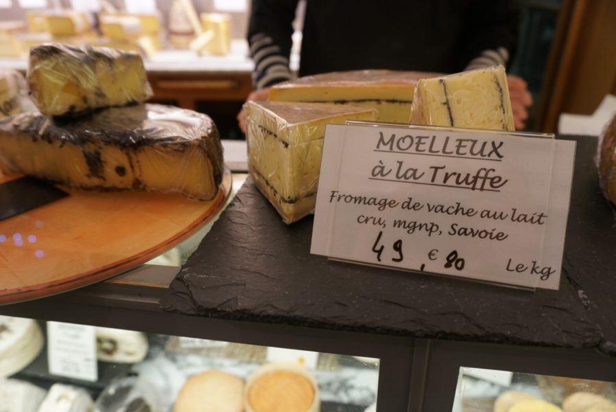 truffle cheese paris france cheese shop