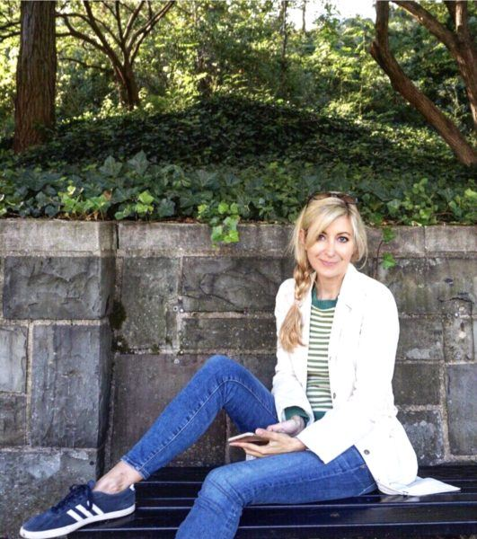 kristin francis nyc blogger