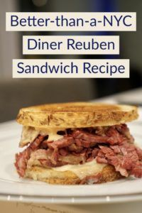 best NYC Reuben sandwich recipe diner