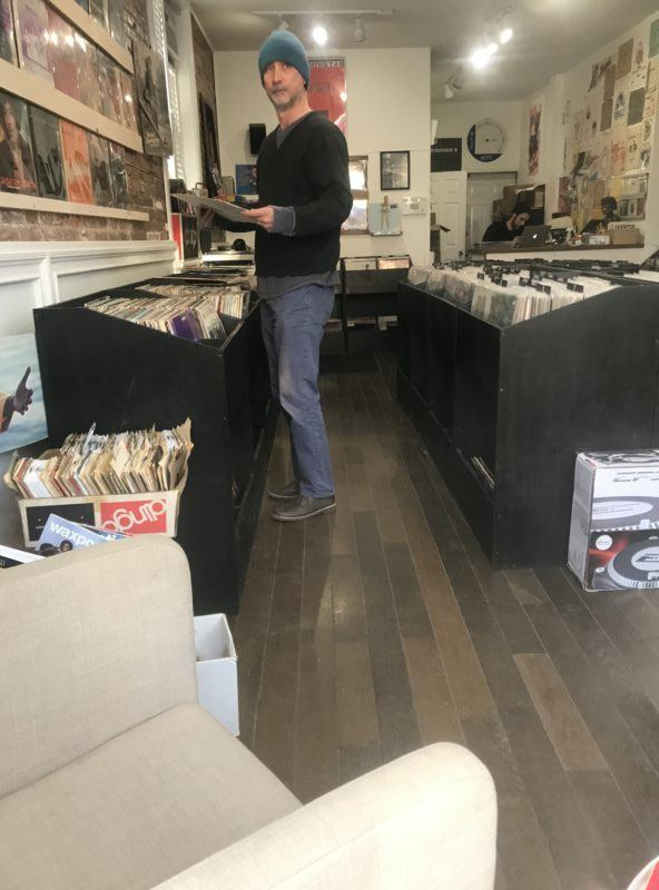 Hudson Valley Vinyl record shop Beacon