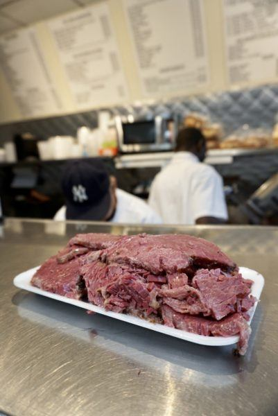 corned beef from nyc jewish deli