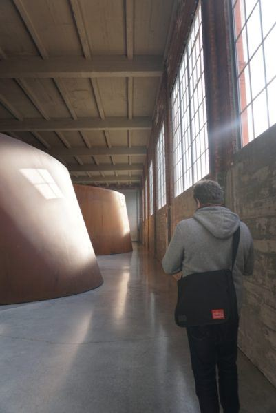 (Richard Serra, DIA Beacon).