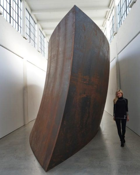 Union of the Tours and the Sphere, 2001, Richard Serra (DIA Beacon)