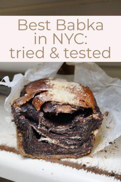 best chocolate babka in nyc