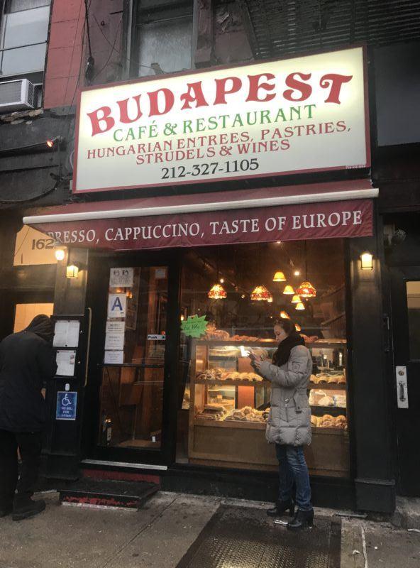 budapest cafe upper east side new york city