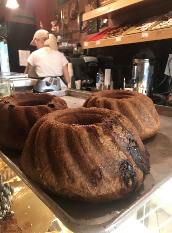 Chocolate babka at Budapest Bakery