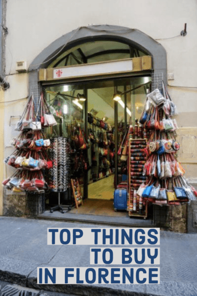 Top shopping souvenirs from Florence Italy purses leather photos