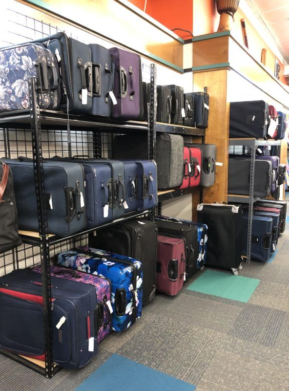unclaimed baggages store photos suitcases luggage for sale