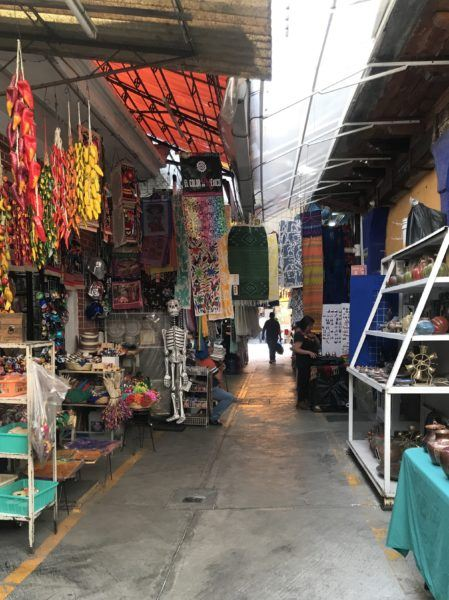 Mexico City's best market for shopping souvenirs