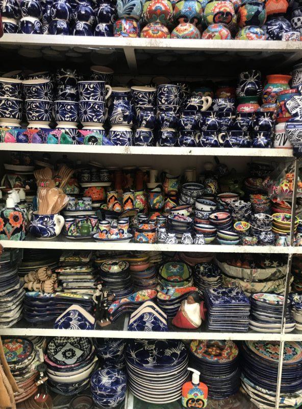 La Ciudedela market bargain shopping pottery