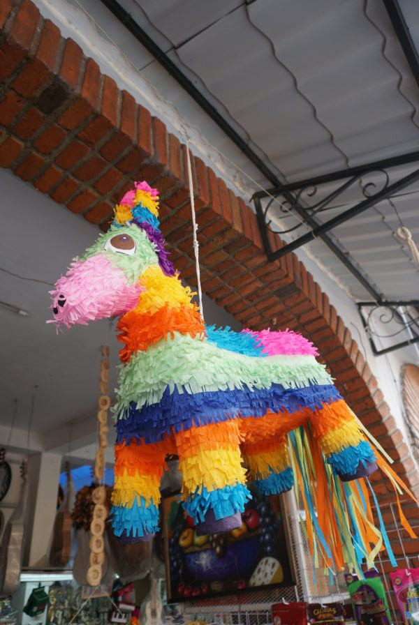 Mexican pinata mexico city shopping