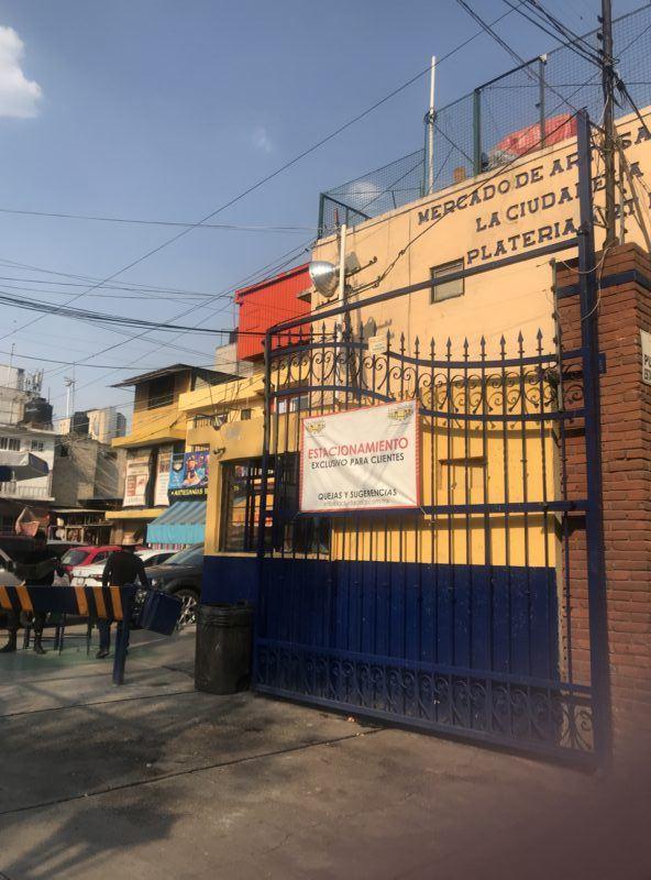 La Ciudedela market entrance photo bargain shopping