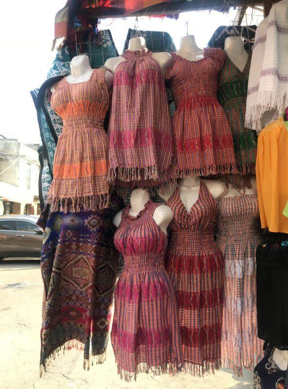 cheap dresses La Ciudedela market bargain shopping for souvenirs