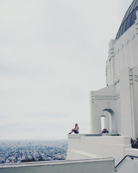 instagram shot griffith observatory la