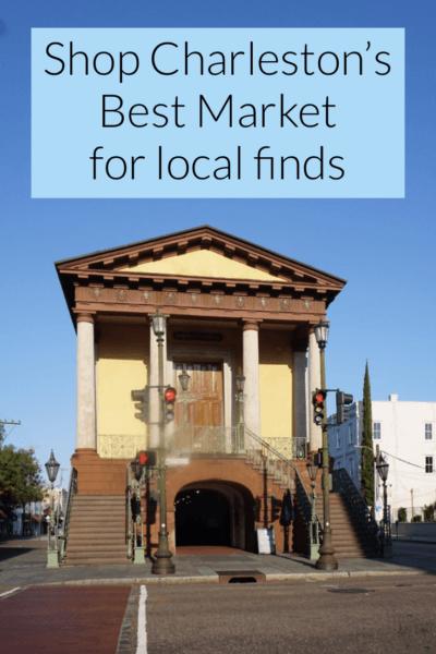 Souvenirs City Market Charleston Building